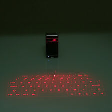 Wireless Bluetooth Virtual Laser Keyboard For Phone iPhone PC Laptop Silver