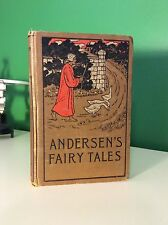c1900 Fairy Tales & Stories By Hans Christian Andersen Hardcover Thumbelinaa