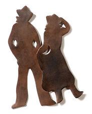 Western Taglio Dei Metalli Cowboy Decorazione Wild Ovest Cowgirl Foto Di Muro