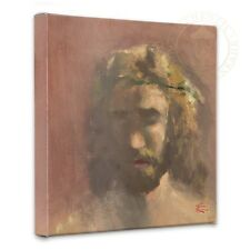 "Thomas Kinkade Wrap - The Prince of Peace – 14"" x 14"" Gallery Wrapped Canvas"