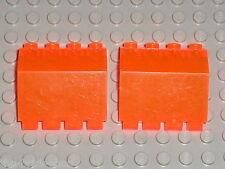 LEGO Space ice planet TrNeonOrange Hinge ref 2582 / Set 6983 & 6898