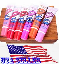 6 Colors Romantic Bear Lip Wow Gloss TATTOO Magic Peel Mask Tint Long Lasting US