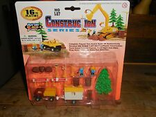 Smart Toys 16 Piece Construction Series 20482 HO 1/87 Truck & Trailer MOC