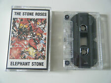 THE STONE ROSES ELEPHANT STONE CASSETTE TAPE 4 TRACK EP SILVERTONE UK 1990