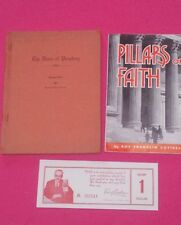 1945 Pillars of Faith & The Voice of Prophecy Voulme Two Raido Talks