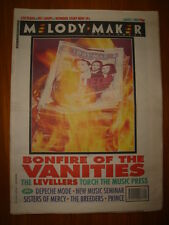 MELODY MAKER 1993 AUG 7 BONFIRE OF THE VANITIES PRINCE
