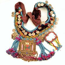 Belly Dance Dangles TRIBAL BELT Unique Kuchi 867u3