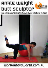 Toning EXERCISE DVD - Barlates Body Blitz ANKLE WEIGHT BUTT SCULPTER!