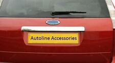 CHROME REAR DOOR HANDLE TAILGATE BOOT GRAB TRIM COVER FOR FORD FOCUS ESTATE