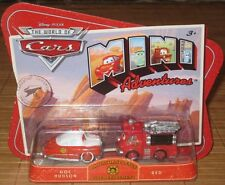 Disney Pixar Cars Mini Adventures Radiator Springs Fire Dept Doc Hudson & Red