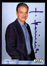 Jürgen Heinrich Wolffs Revier Autogrammkarte Original Signiert ## BC 56776