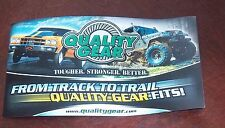 Decal Automotive OFF ROAD  Quality Gear