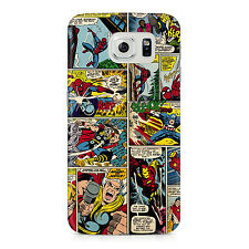 Marvel Comic The Avengers Samsung Galaxy S7 Edge Hard Plastic Case Geeky Gamer