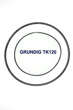SET BELTS GRUNDIG TK120 REEL TO REEL EXTRA STRONG NEW FACTORY FRESH TK 120