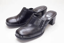 Clarks 11 Black Mules Womens Shoes