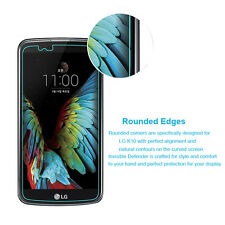 LG K10 /M2/F670 - Round Edge 2.5D 9H 0.3mm Tempered Glass Screen Protector