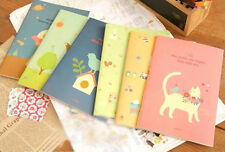 A5 Cute cat Notebook Soft manuscripts Korean style Little girl Fashion Notepad