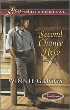 Second Chance Hero (Texas Grooms (Love Inspired Historical))-ExLibrary