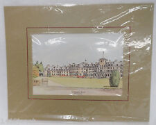 Neil JH MacLeod Color Print of Gleneagles Hotel Perthshire Scotland