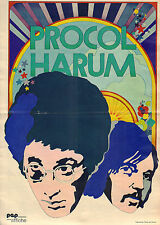 PROCOL HARUM - POSTER FROM DUTCH COMIC MAGAZINE PEP 1972