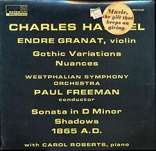 Charles Haubiel Gothic Variations Nuances Orion ORS 74158 LP SEALED