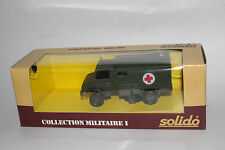 SOLIDO MILITARY #6046 MERCEDES UNIMOG U.S. ARMY MILITARY AMBULANCE, 1:50, NIB