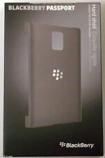 New Genuine OEM Blackberry Passport Hard Shell Case Cover ACC-59523-001 Black