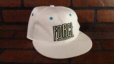 NIKE Air Command FORCE Snapback Hat NEW 669585-100 White Volt Billy HOYLE