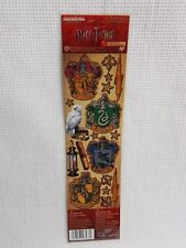 Harry Potter Sticker Sheet Creative Imaginations Gryffindor Slytherin Hufflepuff