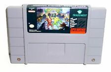 Super Nintendo Battletoads Double Dragon The Ultimate Team Game Tested Works!
