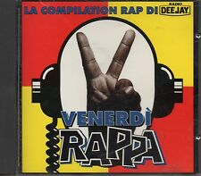 VENERDI RAPPA CD fuori catalogo 1994 JOVANOTTI PARIS ICE CUBE ARTICOLO 31 NWA