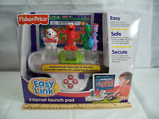 NEW FISHER PRICE EASY LINK COMPUTER LAUNCH PAD SESAME STREET ELMO DRAGON TALES