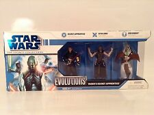 Star Wars Evolutions Vader's Secret Apprentice Legacy Collection 3-Pack Rare