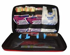 StatGear Auto First Aid Kit - Survival, Emergency, Travel Bag, Outdoor, Car