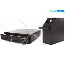 Cash Drawer and Under Counter POS Safe ePos Bundle Kit - Free UK Delivery