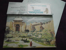 """LOST HORIZON ""   Soundtrack  BURT BACHARACH 1973 UK LP BELL SYBEL 8000"