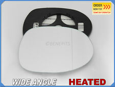 Wing Mirror Glass HONDA CIVIC 2006-2011 Wide Angle HEATED Right Side #JH010