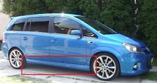 OPEL VAUXHALL ZAFIRA B MK2 SIDE SKIRTS OPC / VXR LOOK NEW 2 PCS ( PAIR )