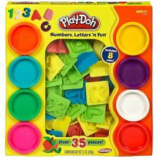 Hasbro Play Doh - Numbers , Letters and Fun - Suitable for ages 3 years+ Playdoh