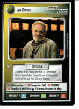 STAR TREK CCG Q CONTINUUM RARE CARD IRA GRAVES