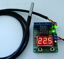 Waterproof DS18B20 probe thermostat, smart thermostat timer switch