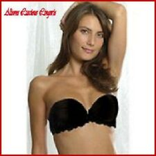 Splendour Black Push Up Strapless (For Dresses) Multi Bra 34B RRP £23