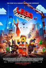 The Lego Movie DOUBLE SIDED ORIGINAL Double Sided MOVIE film POSTER feat. Batman