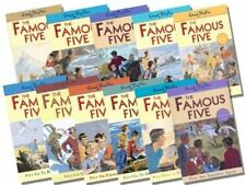Enid Blyton Famous Five Series Collection 11 Books Set (11 To 21)