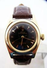 Solid 14k ROLEX Bubble Back Automatic Watch 1940s Ref 3131* EXLNT SERVICED
