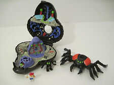 Mighty Max DOOM ZONES Playset 100% COMPLETE ! 1 TRAPPED by ARACHNOID Rare