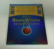 Disney SNOW WHITE AND THE SEVEN DWARFS Blu-ray STEELBOOK - Brand NEW / MINT