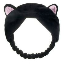 Womens Girls Super Soft Cat Ears Headband Elastic Hair Band Costume Party Kitten