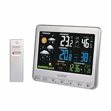La Crosse Technology WS6826WHI-SIL Weather Station with Animated Colour Screen -