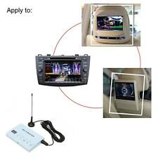 NEW Car DVD TV Receiver Monitor Analog TV Tuner Strong Signal Box + Antenna T4F3